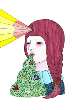 illustration irina douer